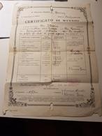 7771 Eb.   Certificato Di Studio Fontainemore Donnas Aosta 1938 - Diploma & School Reports