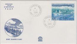 TAAF 1984 Port Jeanne D'Arc 1v FDC Ca Port-aux-Francais Kerguelen (41266) - FDC
