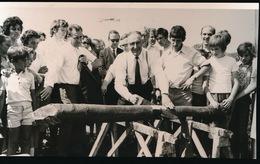 MEIGEM       FOTO 1973 - 74  15 X 9 CM - INHULDEGEM JEUGDFEESTEN - Nevele