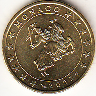 MONACO  2002.  50 CENTIMOS . NUEVA SIN CIRCULAR. CN4420 - Mónaco