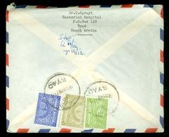 Saoedi-Arabië * Saudi Arabia * BRIEF  1959 By Air Mail  RYAD Naar DEN HAAG NEDERLAND   (11.454k) - Saudi Arabia