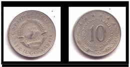 Yougoslavie 10 Dinar 1976 - Yougoslavie
