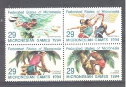 Micronesia   Michel #  352 - 55   Micronasian Games 1994 - Micronesia