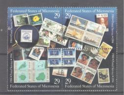 Micronesia   Michel #  371 - 74  10 Jahre Postalische Unabhängigkeit - Micronesia