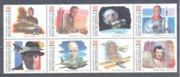 Micronesia   Michel #  383 - 90  Pioniere Der Luft- Und Raumfahrt  (IV) - Micronesia