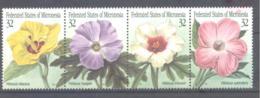 Micronesia   Michel #  422 - 25  Einheimische Flora - Micronesia