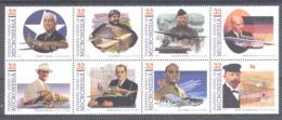 Micronesia   Michel #  452 - 59  Pioniere Der Luft- Und Raumfahrt  (VII) - Micronesia