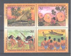 Micronesia   Michel #  460 - 63  Tourismus Yap Inseln - Micronesia