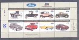 Micronesia   Michel #  501 - 08  Kleinbogen  100 Jahre Ford Automobile - Micronesia