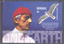 Micronesia   Michel #  Block 81 **  Jacques Cousteau - Micronesia