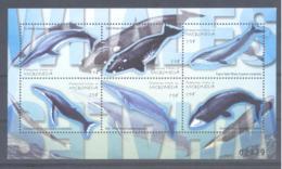 Micronesia   Michel #  1126 - 31 **  Kleinbogen Wale - Micronesia