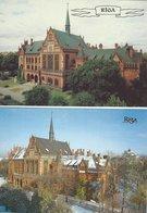 Latvia - Riga.  Latvian Academy Of Fine Art.  2 Cards.  B-3322 - Latvia