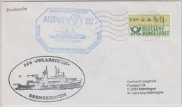 Germany 1988 Deutsche Antarktisexpedition Cover  Ca Polarstern Ca Bremen 12.4.88 (41269) - Stamps