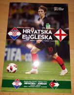 Hrvatska - Engleska Sluzbeni Program, Croatia - England Official Program 12.10.2018 - Books