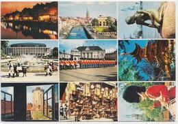 KOBENHAVN, COPENHAGEN, Multi View, 1978 Used Postcard [22180] - Denmark
