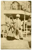 NIGERIA : LAGOS - THREE PASSENGERS ON M.S. ADDA, WEST COAST AFRICA (TUCK'S) - Steamers