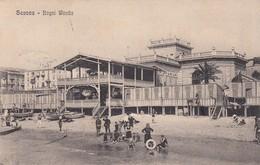 SAVONA-BAGNI WANDA-CARTOLINA VIAGGIATA IL 24-4-1909 - Savona