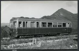 Photo Format 142 X 90 - Ferrocarril - Espagne - Automotrice Diesel Trubia - Voir 2 Scans - Treinen