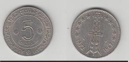 ALGERIE 5 DINARS 1962/1972 - Algérie