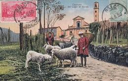 SALò-BRESCIA-LAGO DI GARDA-COSTUMI DEL LAGO DI GARDA-CARTOLINA VIAGGIATA IL 4-8-1930 - Brescia