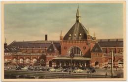 KOBENHAVN, COPENHAGEN, Hovedbanegaarden, The Central Station, Used Postcard [22185] - Denmark