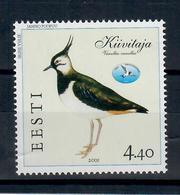 ESTONIA 2001 - FAUNA - UCCELLI    - MNH ** - Estonia
