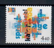 ESTONIA 2001 - FAUNA - ANNO EUROPEO DELLE LINGUE  - MNH ** - Estonia