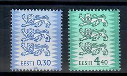 ESTONIA 2001 - STEMMI - SERIE ORDINARIA  - MNH ** - Estonia