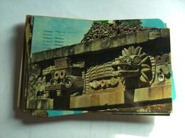 Mexico Teotihuacan Templo De Quetzalcoatl - Mexico