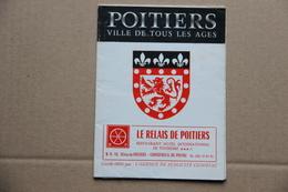 Dépliant Poitiers (Vienne) - Dépliants Turistici