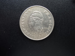 POLYNÉSIE FRANÇAISE : 20 FRANCS   1973   G.93 / KM 6     TTB * - Polynésie Française