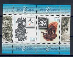 ESTONIA 2000 - 100^ ESPOSIZIONE NAZIONALE EXLIBRIS - FGL  - MNH ** - Estonia