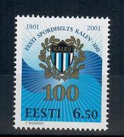 ESTONIA 2001- 100°  ORGANIZZAZIONE SPORTIVA KALEV  - MNH ** - Estonia