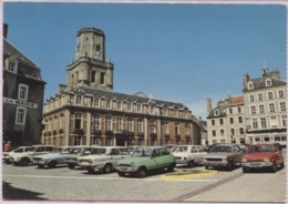 CPM - BOULOGNE S/MER - Hôtel De Ville Et Le Beffroi (voitures Renault 5 B.Plan) - Edition La Cigogne - Boulogne Sur Mer