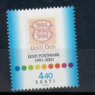 ESTONIA 2001 - 10° RIPRESA EMISSIONE FRANCOBOLLI ESTONI - MNH ** - Estonia