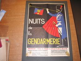 NUITS DE LA GENDARMERIE - BRUXELLES PALAIS DU HEYSEL DU 10 AU 15/6 - SIGNEE R.DECONINCK - Posters