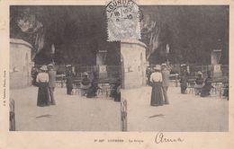 Cp , CARTES STÉRÉOSCOPIQUES , LOURDES , La Grotte - Stereoscope Cards