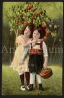 Postkaart / CPA / Postcard / Children / Enfants / Kinderen / 1909 / 2 Scans - Grupo De Niños Y Familias