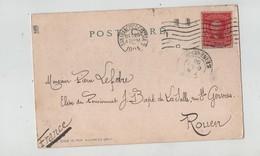 Généalogie Carte Précurseur 1905 Lefebre Elève Du Pensionnat JB De La Salle Rouen Fort Alcatraz San Francisco Bay - Genealogie