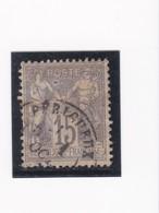 N° 66 TYPE SAGE   CACHET A DATE    PERIGUEUX  /  DORDOGNE   - REF 24-24 - 1876-1878 Sage (Type I)