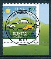 GERMANY  Mi.Nr. 3265 Klimaschutz Durch Elektromobilität - ESST Berlin - Eckrand Unten Rechts  - Used - BRD