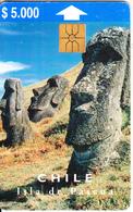 CHILE - Easter Island, Isla De Pascua, Tirage 50000, 10/97, Used - Chile