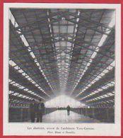 Les Abattoirs, Oeuvre De L'architecte Tony Garnier Actuel Hall Tony Garnier. Lyon, Rhône (69). 1936. - Vieux Papiers