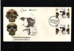Great Britain 1982 Charles Darwin FDC - Beroemde Personen
