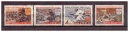URSS664) 1961 -Ventennale Difesa -Unificato 2444-46A Serie Cpl 4 Val.MNH** - 1923-1991 URSS
