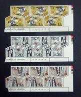 Malta QEII 1968 Christmas Set SG409-411 Mint Blocks Mint Never Hinged/Unmounted Mint (MNH/UMMM). - Malte