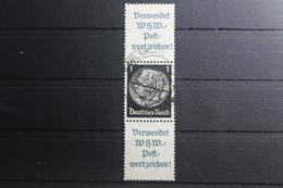 Deutsches Reich Zd S212 Gestempelt Zusammendrucke #SH345 - Se-Tenant