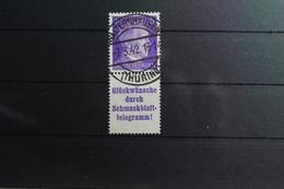 Deutsches Reich Zd S288 Gestempelt Zusammendrucke #SH440 - Se-Tenant