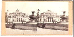 Le Cirque  Mit Brunnen - Paris  -  Von 1900 (S019) - Photos Stéréoscopiques