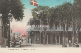 Curacao  ST THOMAS  National Bank Cao107 - Curaçao